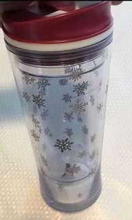 Starbucks Tumbler - Christmas snowman limited edition