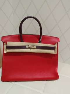 Hermes birkin 35 mult color in 2