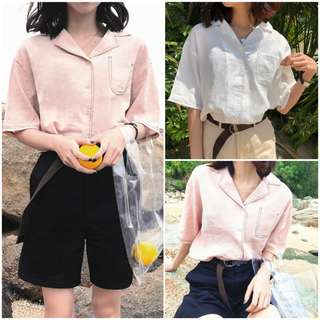 Women Line Vintage Blouse