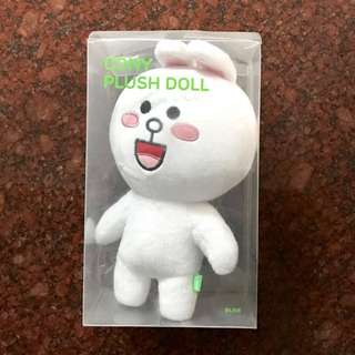 Cony plush doll LINE official merchandise
