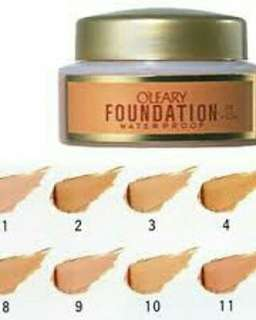 O'Leary Covermark S Waterproof Foundation