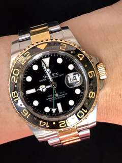 Preloved Rolex with paper