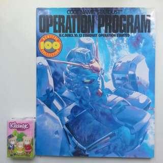 新淨二手日文 機動戰士 Gundam Newtype100% 0083 code name Stardust operation program 角川 全特集