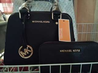 Mk sling bag plus wallet