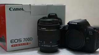 Canon 700d dan lensa fix yongnuo 50mm