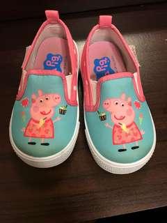 🚚 佩佩豬鞋14#9成新