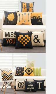 [FREE MAIL] 2 Pieces of Cushion Cover