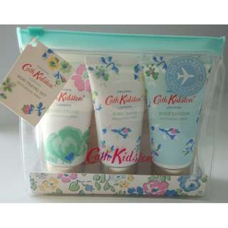 New! Cath Kidston Travel Set