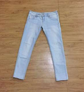 Bershka Low Waist Skinny Jeans