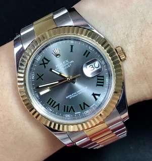Preloved ROLEX 41mm with card