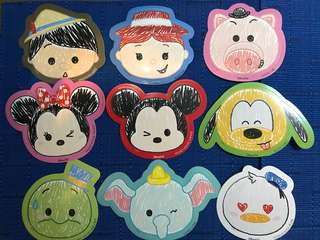 迪士尼貼紙 米奇 米妮 唐老鴨 小飛象