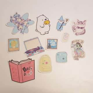 Cute stickers - custom made