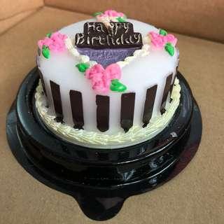 蛋糕形狀蠟燭 (生日蠟燭)
