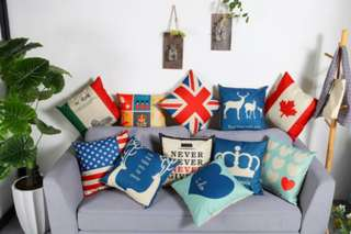 FREE MAIL] 2 Pieces of Cushion Cover