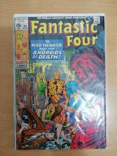 (Sold) Fantastic four 96 (1970)