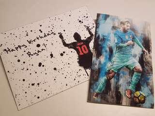 Card and envelope - custom made