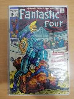 (Sold). Fantastic four 93 (1969)
