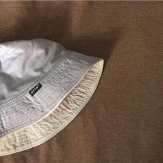 🚚 日系灰藍色漁夫帽 水桶帽