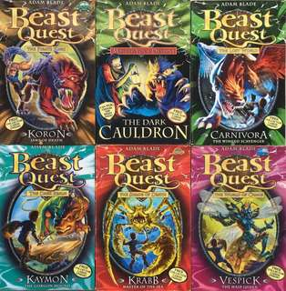 Beast Quest, Mr Midnight and How to train your Dragon