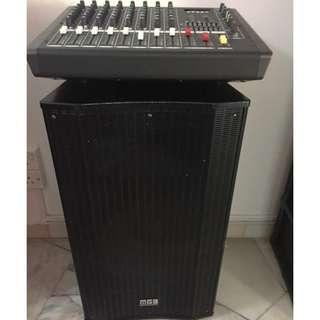 JBL Woofer / Speaker / Mixer