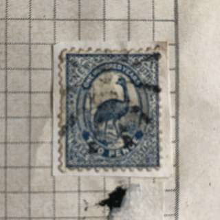 Stamp - New South Wales 1888 - EMU