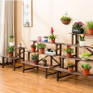 3 Level Plant Step - Gardening Plant Stand