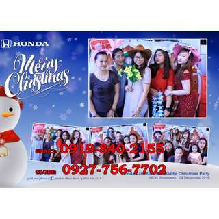 Photobooth for all events in any areas in Metro Manila or Rizal area