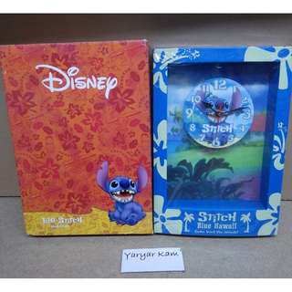 Brand new Disney Stitch wall clock 史迪仔掛鐘
