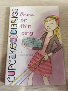 Cupcake diaries Emma on thin icing book 3
