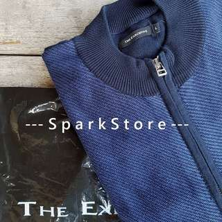 The Executive Sweater Katun Biru