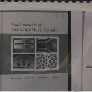 Ma3003 Heat Transfer (Incropera/Dewitt)
