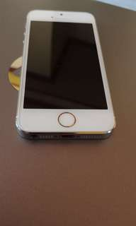 iPhone 5s || gold ||