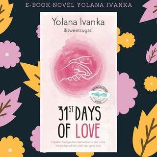 E-BOOK PDF NOVEL 31st DAYS OF LOVE