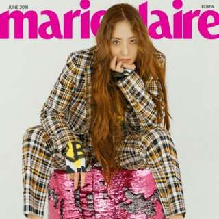 Marie Claire June Issue (SHINee / F(x) Krystal)