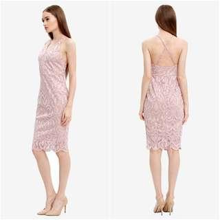 Karimadon Bodycon V-neck dress