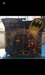 Batman & Superman (Unopened Box)