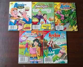 komik import the archie's