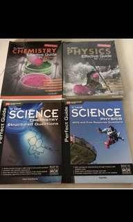 o level upper sec physics & chemistry books