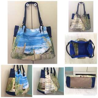 Beach Wrinkle shoulder bag