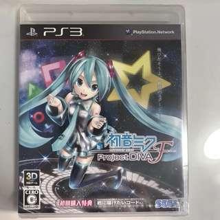 Hatsune Miku Project Diva F PS3 R2 (Jpn)