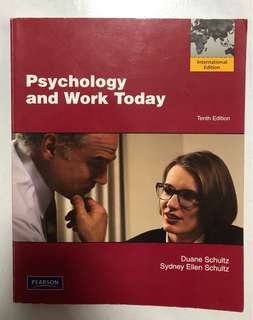 Psychology and Work Today Textbook