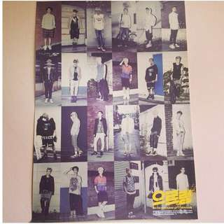 EXO GROWL OFFICIAL POSTER