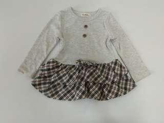 🚚 女幼童長袖洋裝連衣裙