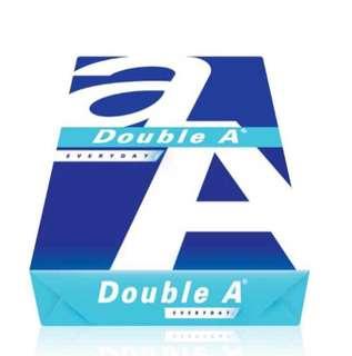 """Promotion: Double A Copier Paper 70gsm A4 $3.55/ream+Dynam Lever Arch File 2""""/3"""" $2.5/pc"""