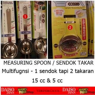 Japan Quality - Sendok takar Multifungsi Measuring Spoon