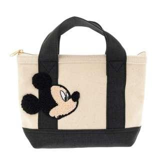 Japan Disneystore Disney Store Mickey Mouse Sagara Weave Basic Pouch