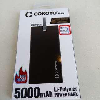 5000mAh充電器,TYPE-C & USB 兩用