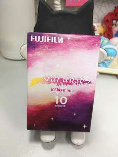 Fujifilm instax mini star dust 相紙