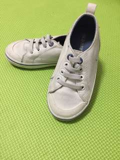 Old Navy white toddler sneakers