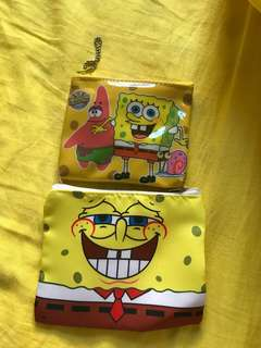 Spongebob coin bag